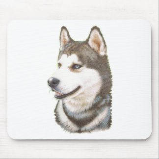 Siberian Huskey Dog Mousepad