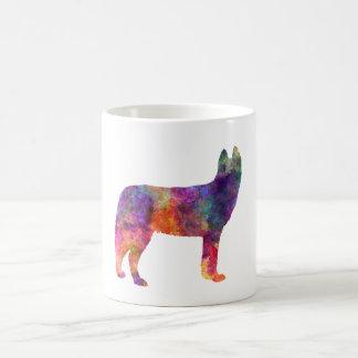 Siberian Husky 01 in watercolor Coffee Mug