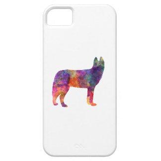 Siberian Husky 01 in watercolor iPhone 5 Cases