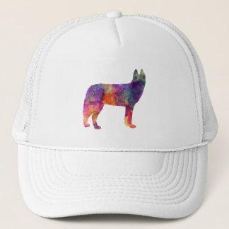 Siberian Husky 01 in watercolor Trucker Hat
