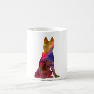 Siberian Husky 02 in watercolor Coffee Mug