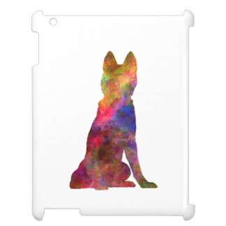 Siberian Husky 02 in watercolor iPad Cover