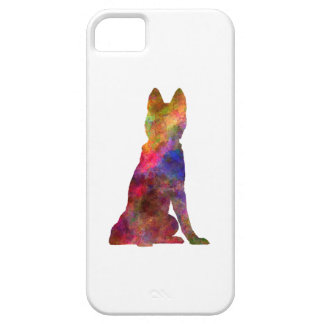 Siberian Husky 02 in watercolor iPhone 5 Cover