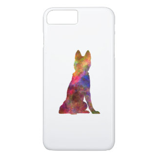 Siberian Husky 02 in watercolor iPhone 8 Plus/7 Plus Case
