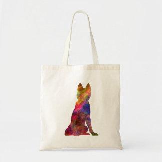 Siberian Husky 02 in watercolor Tote Bag