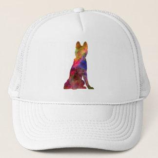 Siberian Husky 02 in watercolor Trucker Hat