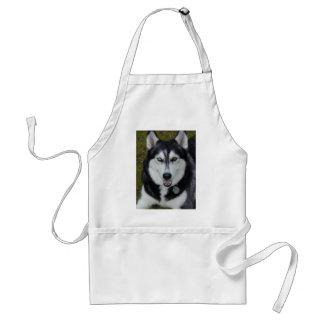 Siberian Husky #2 Aprons