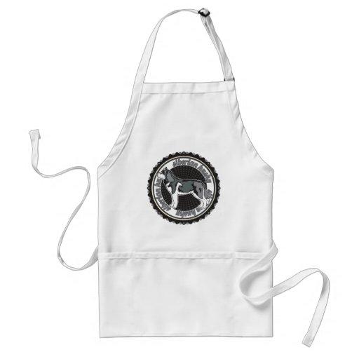 Siberian Husky Aprons