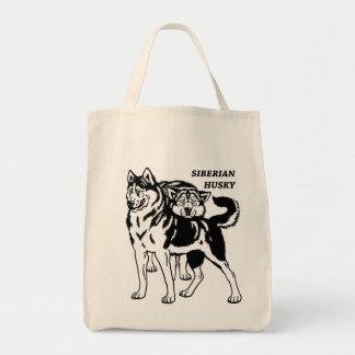 siberian husky bags