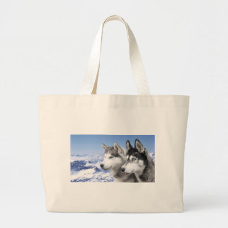 Siberian Husky Canvas Bag