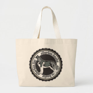 Siberian Husky Canvas Bag