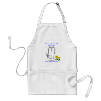 Siberian Husky Best Things In Life Apron