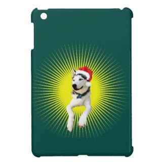 Siberian Husky Christmas Case For The iPad Mini