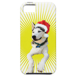 Siberian Husky Christmas iPhone 5 Covers