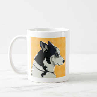 Siberian Husky Coffee Mug - Walk Time
