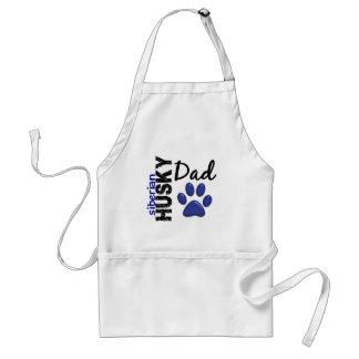 Siberian Husky Dad 2 Aprons