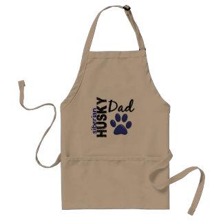 Siberian Husky Dad 2 Standard Apron