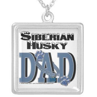 Siberian Husky DAD Custom Jewelry