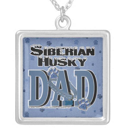 Siberian Husky DAD Pendants