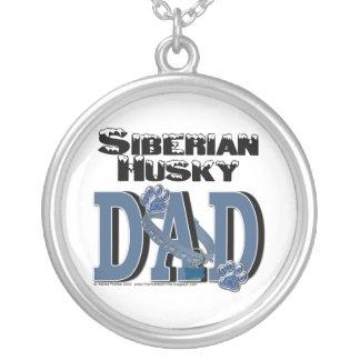 Siberian Husky DAD Necklaces