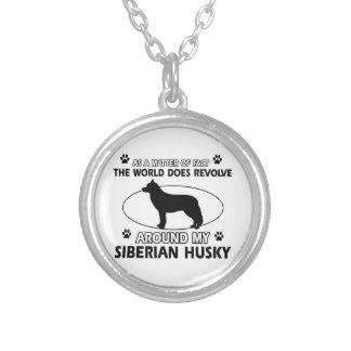 siberian husky designs custom jewelry