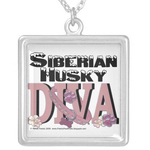 Siberian Husky Diva Custom Jewelry