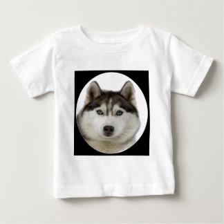 """Siberian Husky dog"" Baby T-Shirt"