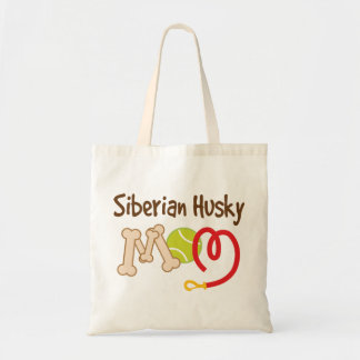Siberian Husky Dog Breed Mom Gift Tote Bag