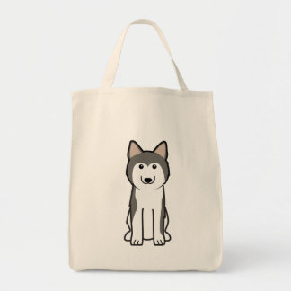 Siberian Husky Dog Cartoon
