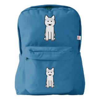 Siberian Husky Dog Cartoon Backpack