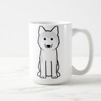 Siberian Husky Dog Cartoon Classic White Coffee Mug
