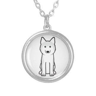 Siberian Husky Dog Cartoon Necklaces