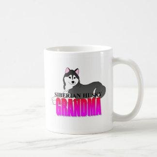 Siberian Husky Dog Grandma Coffee Mug