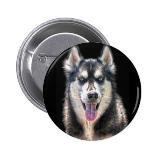 Siberian Husky Dog-lover's Pet Gift Range 2 Inch Round Button