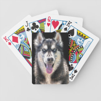 Siberian Husky Dog-lover's Pet Gift Range Bicycle Playing Cards