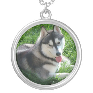Siberian Husky Dog Necklace