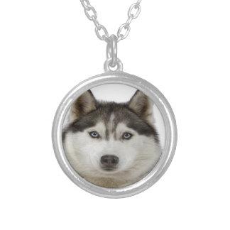 """Siberian Husky dog"" Custom Necklace"