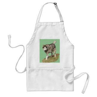 Siberian Husky Dog Standard Apron
