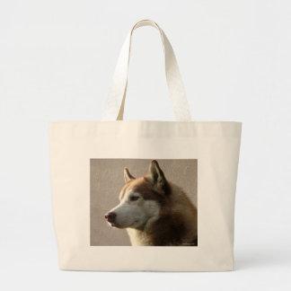 Siberian Husky Dogs Tote Bags