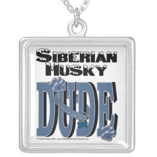 Siberian Husky DUDE Pendant
