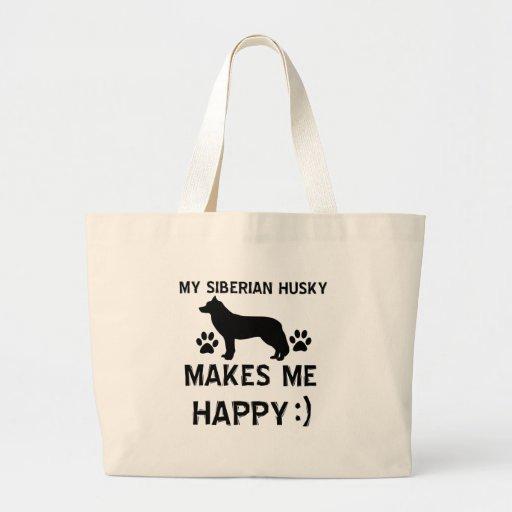 Siberian Husky gift items Bags