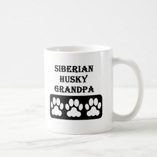 Siberian Husky Grandpa Coffee Mug