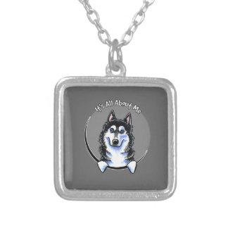 Siberian Husky IAAM Necklaces