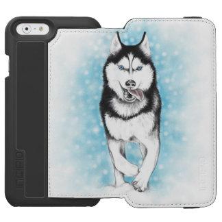 Siberian Husky Incipio Watson™ iPhone 6 Wallet Case