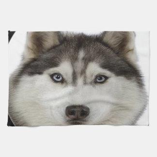 """Siberian Husky"" Kitchen Towel"