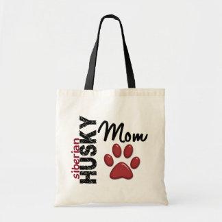 Siberian Husky Mom 2 Canvas Bags