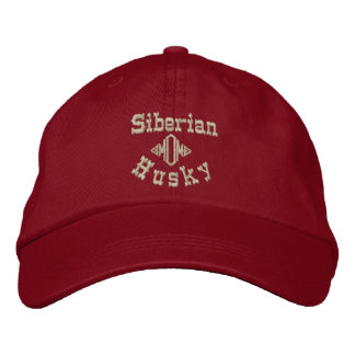 Siberian Husky Mom Gifts Embroidered Hat