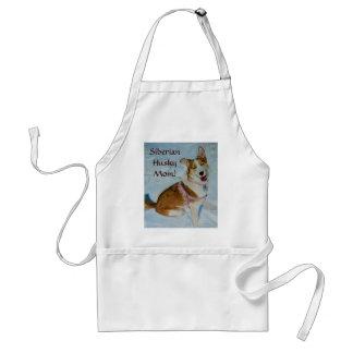 Siberian Husky Mom Standard Apron