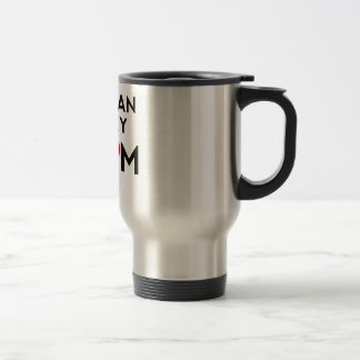 Siberian Husky Mom Travel Mug
