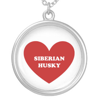 Siberian Husky Custom Necklace